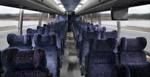 Silver Fox Motor Coach Interior