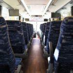 interior of 40 seat Temsa