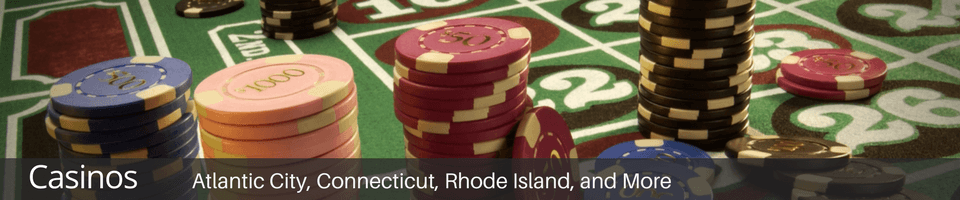 casino tours to atlantic city, foxwoods, mohegan sun, twin river
