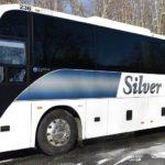 40 passenger silver fox bus