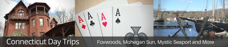 foxwoods, mohegan sun, mystic, groton